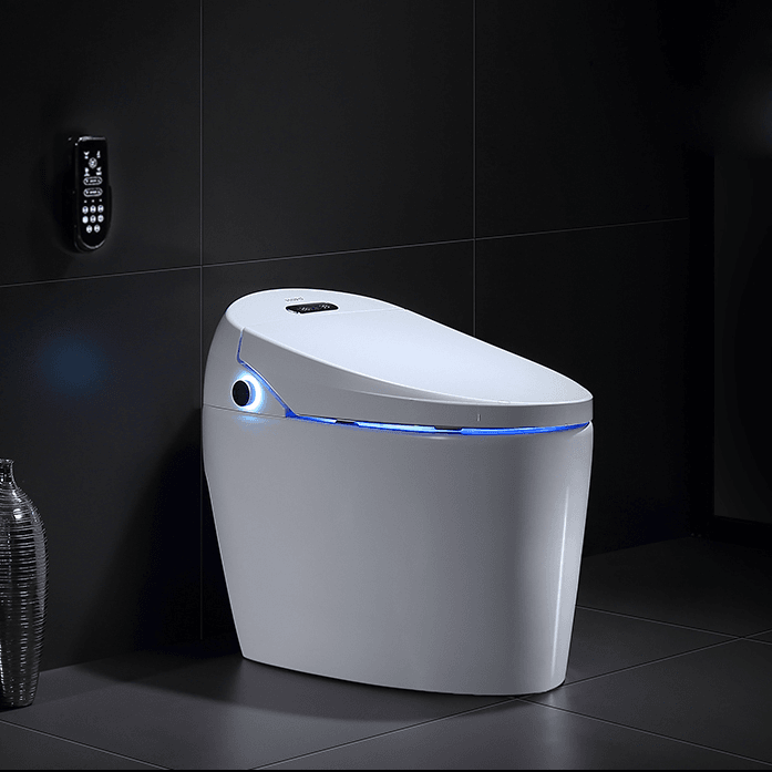 china smart toilet exporter and automatic bidet toilet